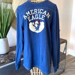 American Eagle Men's  Vintage long sleeve Tee.